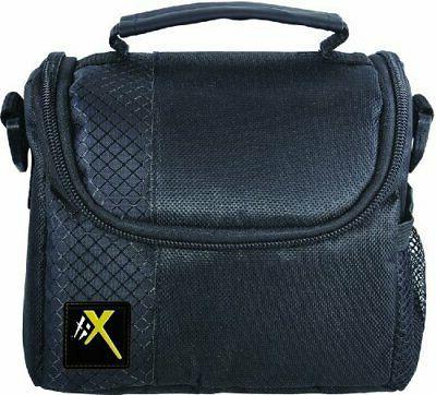 Small Soft Padded Camera Equipment Bag/Case for DSLR Cameras