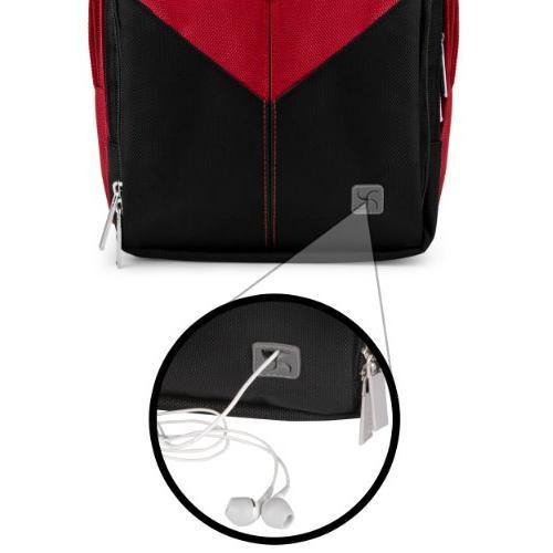 VanGoddy Sparta DSLR Mirrorless Backpack for Nikon D5600 / D5300 / D500 / D5 D3300 / D3200