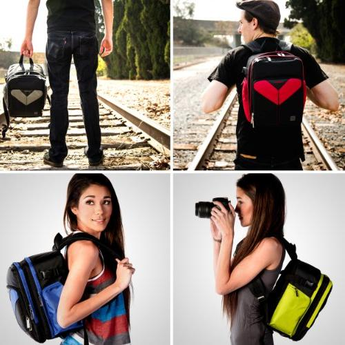 VanGoddy Sparta DSLR & Backpack Nikon D5600 / D5300 D3500 / D3300 / D3200
