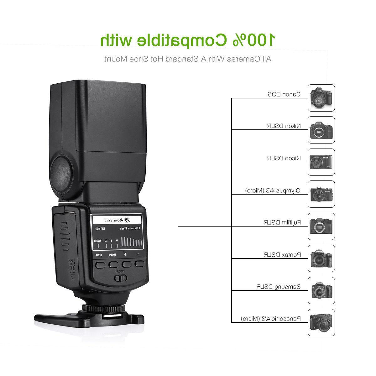 Speedlite Flash Canon EOS Nikon Pentax