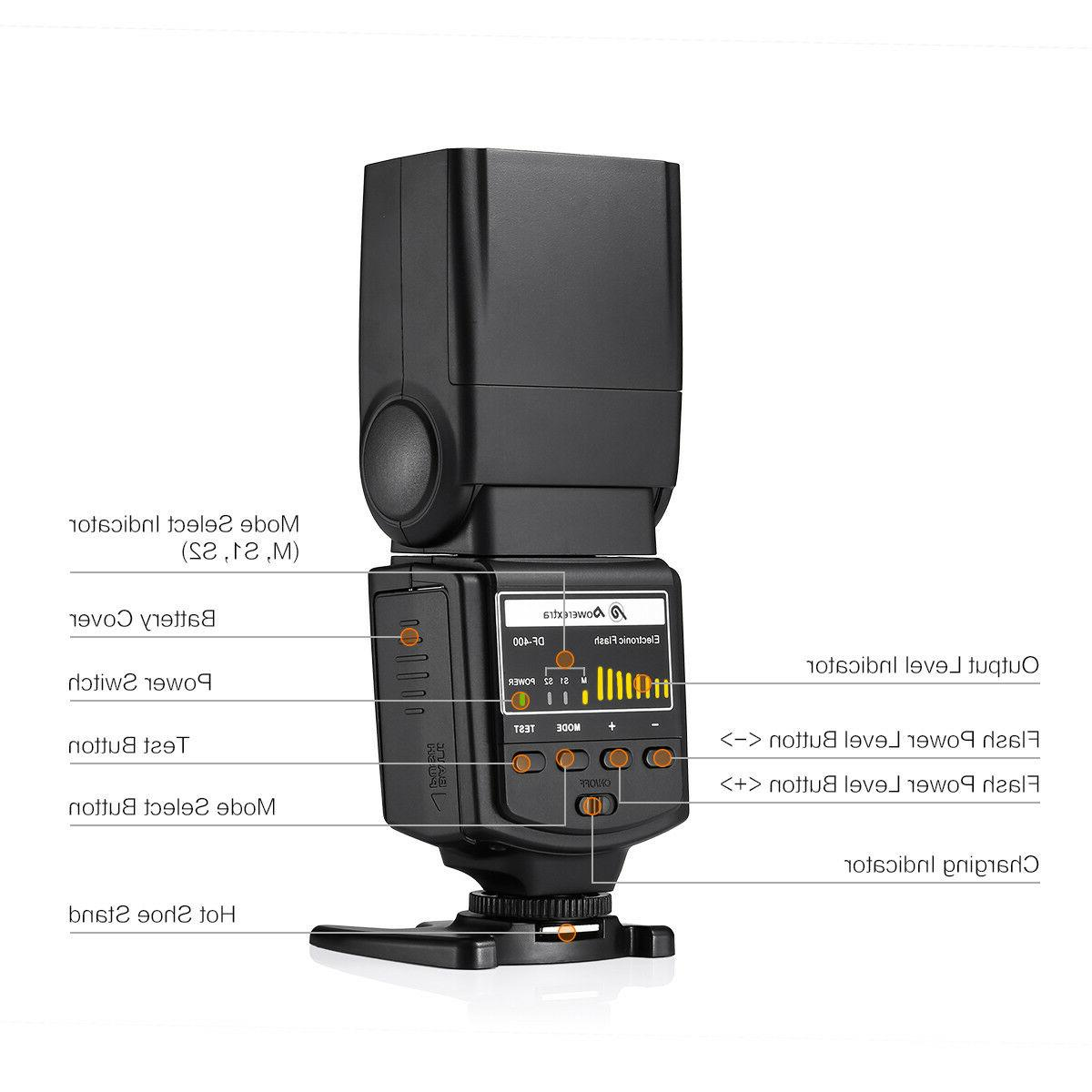 Speedlite EOS Nikon Pentax Samsung DSLR
