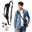YRMJK camera strap Belt Quick Rapid Shoulder Sling Neck for