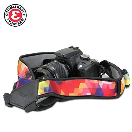 USA DSLR Geometric Neoprene Pattern Accessory - with Sony and & Cameras