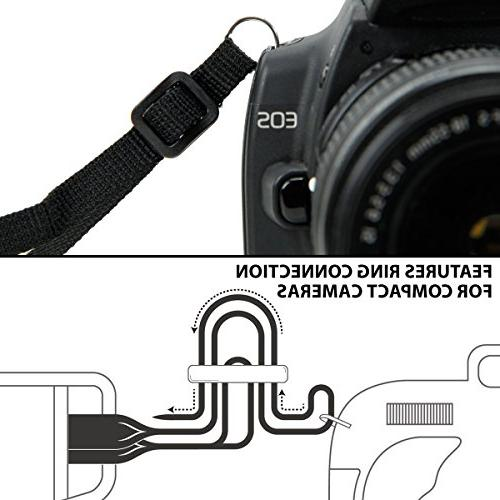 USA GEAR Strap Harness Geometric Accessory with Sony and More &
