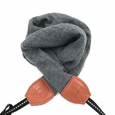 strap scarf fabric vintage dslr
