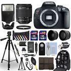 Canon T5i / 700D DSLR Camera + 18-55mm IS STM Lens + 24GB Mu