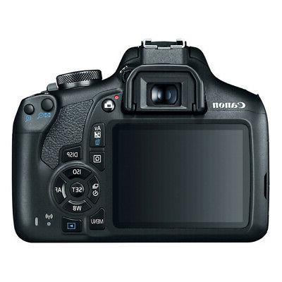 Canon EOS T7 DSLR Camera w/ IS II + III Double Kit