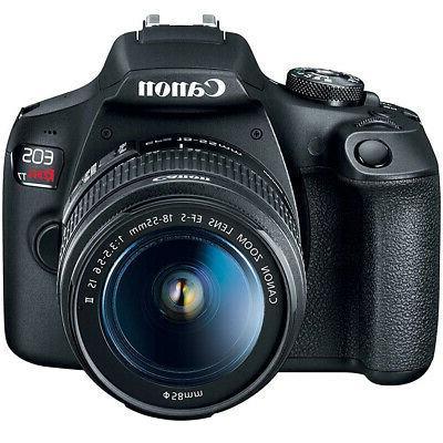 Canon Rebel T7 DSLR w/ IS + III
