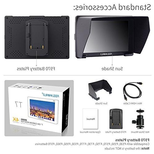 IPS Field Monitor Video Assist Full HD Aluminum Housing Colors