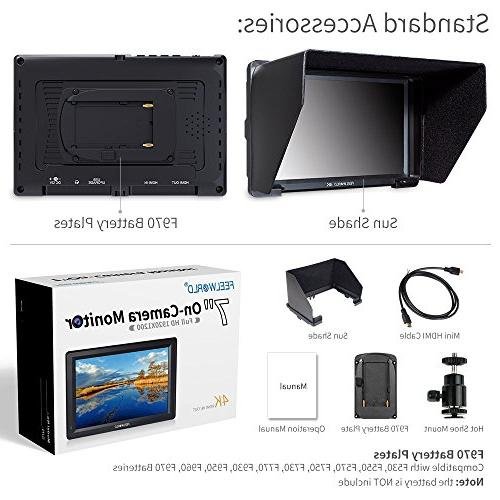 FEELWORLD 7 4K HDMI Video LCD External Display with Focus