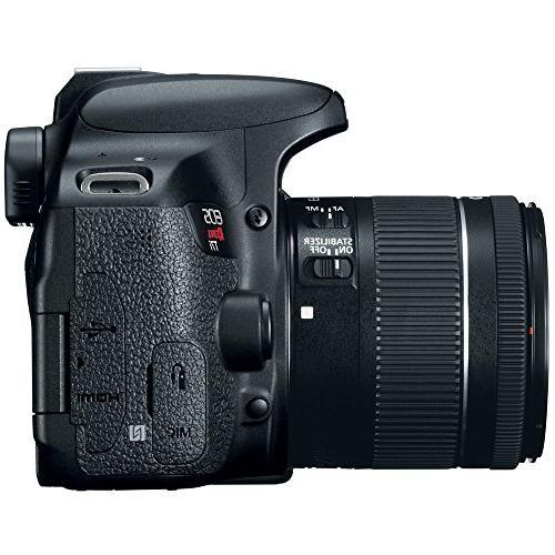 Canon DSLR 18-55mm IS III Accessory 32GB Memory + DSLR Bag Lens + 2x Lens + Remote + Tripod