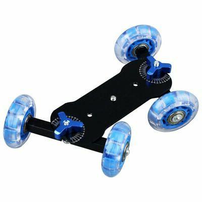 Table Top Car Skater Track Slider Super Mute Camera