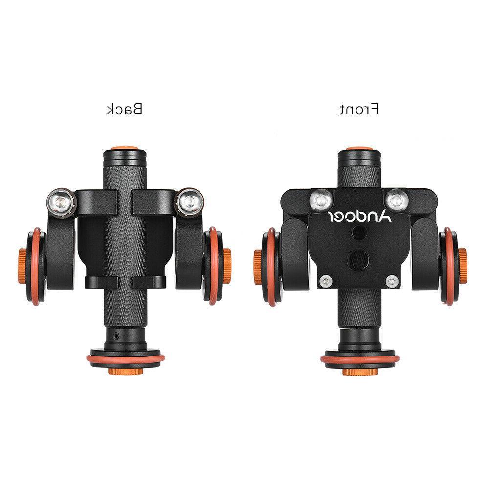Tabletop DSLR Camera Slider Stabilizer