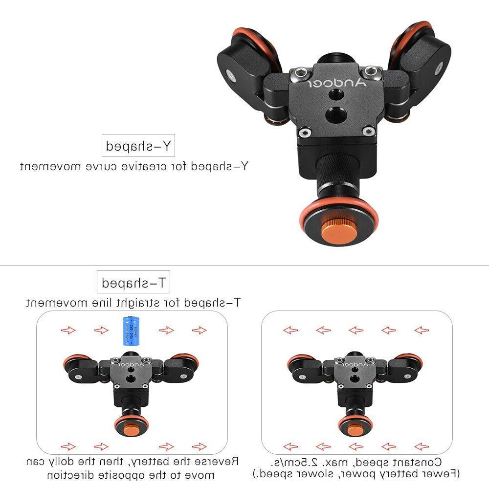 Tabletop DSLR Camera Video Slider