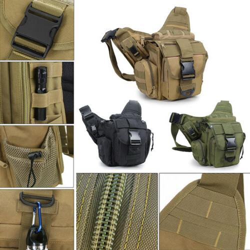 tactical military messenger shoulder slr camera bag