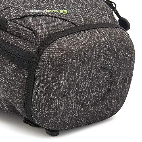 Top Load Digital Camera Bag Rain Cover and Resistant Bottom Long