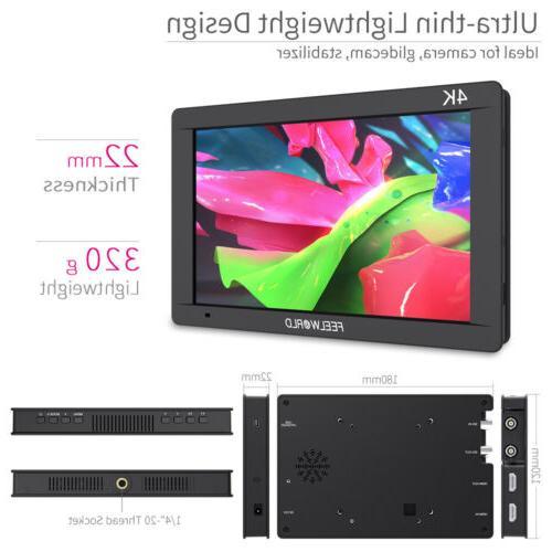 FEELWORLD FW703 IPS SDI/4K HDMI Camera DSLR Monitor