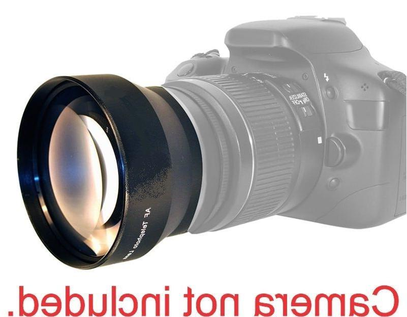 72MM 2.2X TELEPHOTO ZOOM LENS FOR Canon EOS 60D DSLR Camera