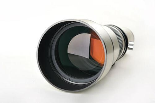 Telescope 650-1300mm f/8-16 Telephoto Lens Nikon DSLR