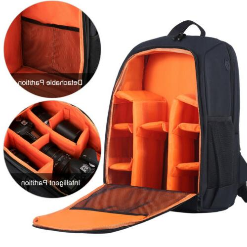 Waterproof Camera Backpack Bag DSLR