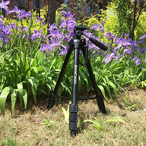 BAALAND Camera inch Folding Aluminum Tripod for Canon SLR