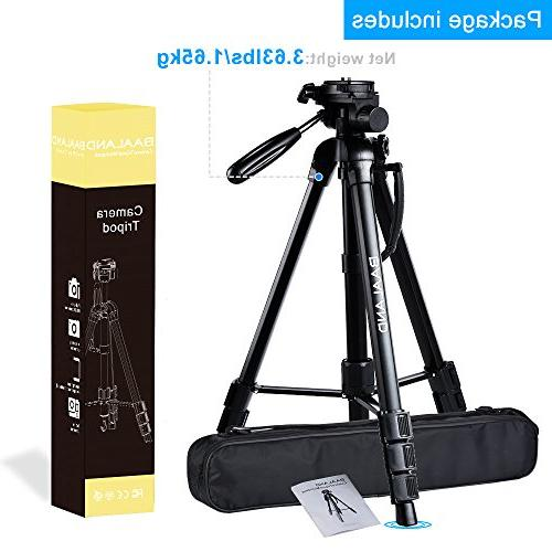 BAALAND Tripod, inch Folding Tripod with Carry for Canon SLR