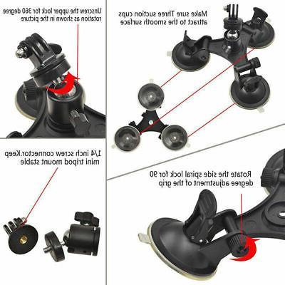 Tripod Mount Cup For Sony SJ GoPro DSLR SLR Camera