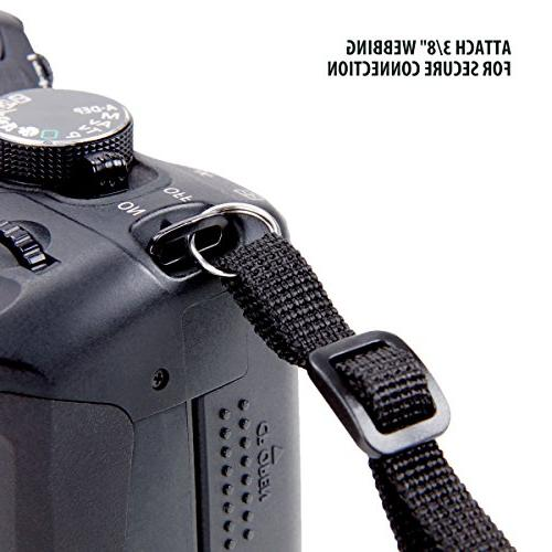 DSLR Camera with Camouflage Nature Neoprene Pattern and Pockets by Works , Fujifilm Nikon , , Point &
