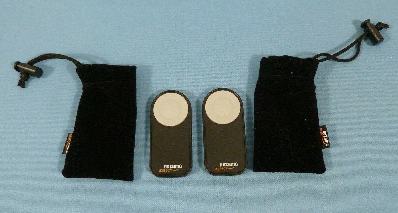 two amazonbasics wireless remote control for canon