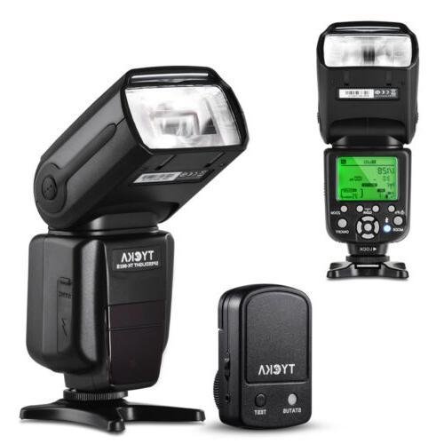 TYCKA Flash Speedlight 1/8000s Wireless Controller Trigger F