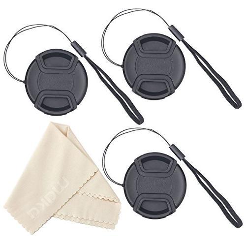 center pinch lens cap