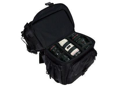 Universal DSLR Large Bag Nikon Sony Black
