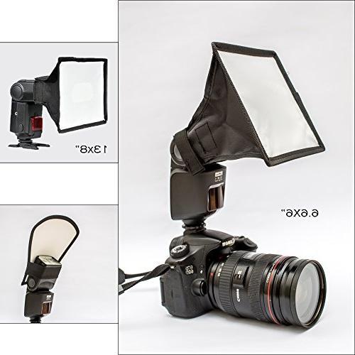 universal flash diffuser light softbox