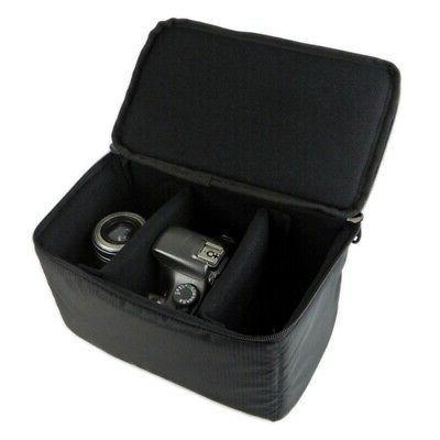 Waterproof DSLR Insert Partition Lens Handbag