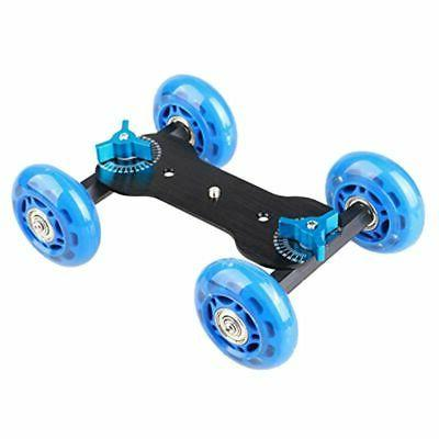 Table Top Dolly Mini Car Skater Track Slider Super Mute for
