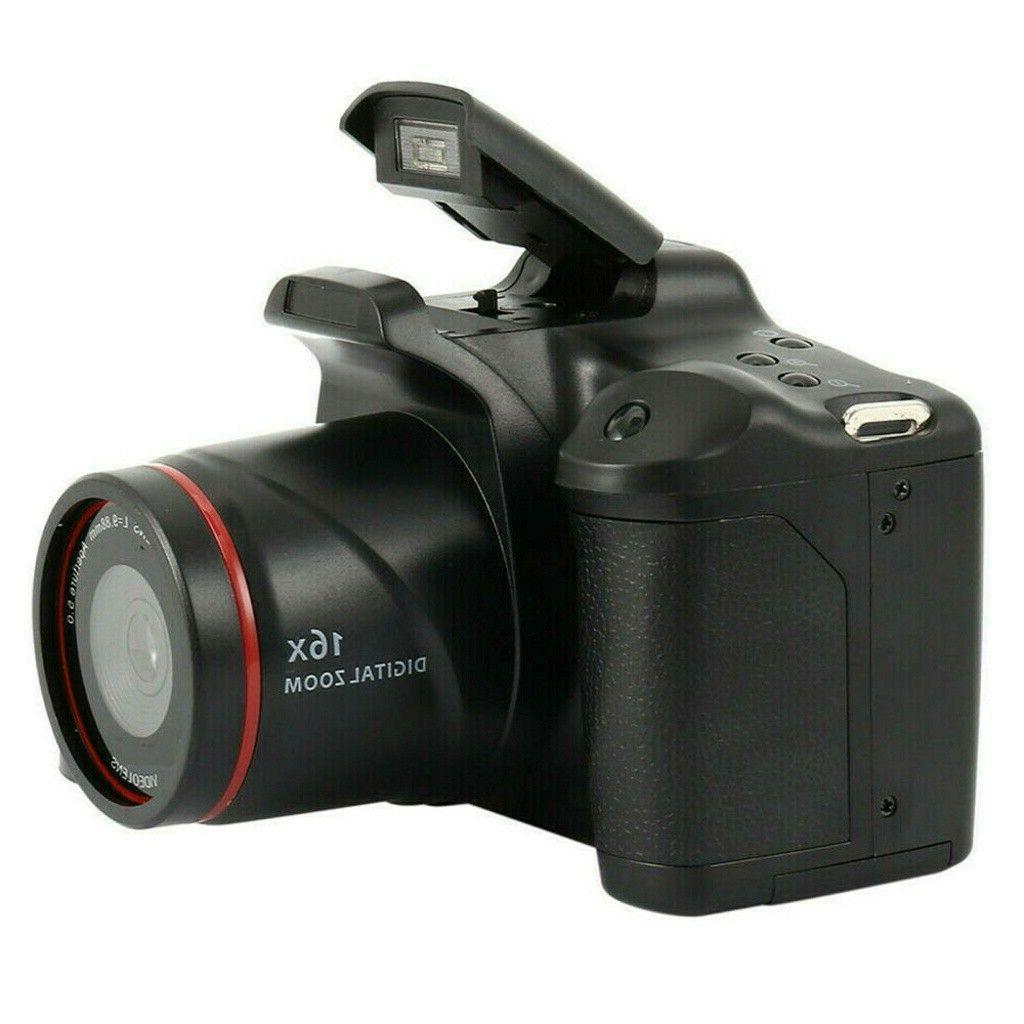 Digital Video SLR Camera Inch 16x Zoom Anti-shake