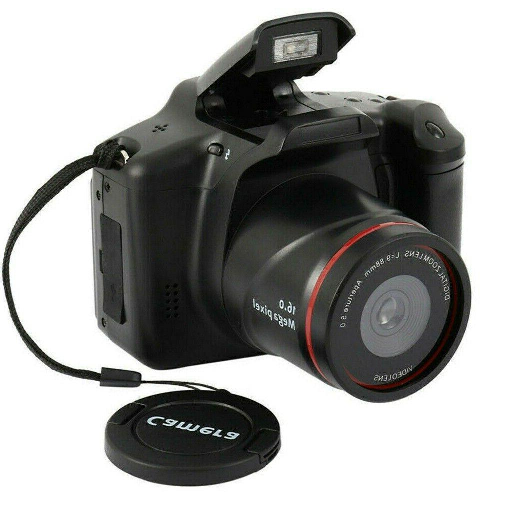 Digital Vlogging SLR Camera 16x Zoom 1080P Anti-shake