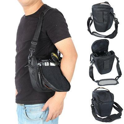For Canon Nikon-Sony SLR DSLR Shockproof Camera Case Shoulde