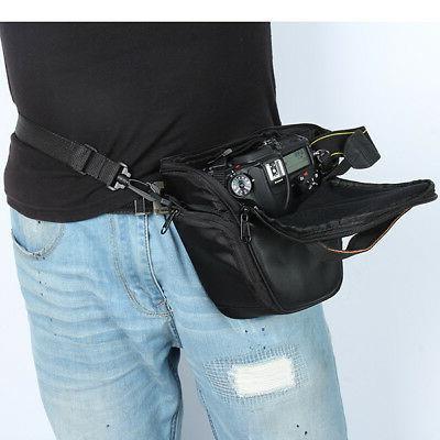 USA SLR Shockproof Camera Case Shoulder Backpack