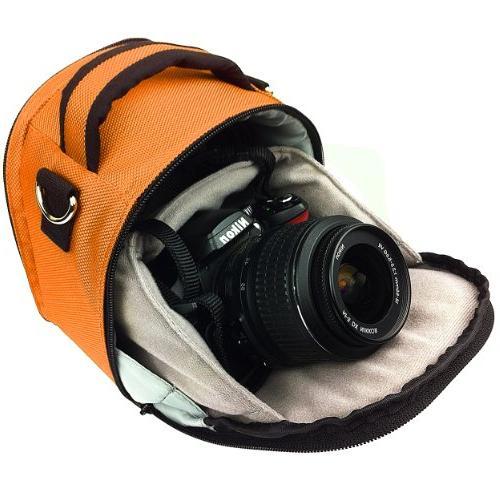 Vangoddy VGLaurelORG Laurel DSLR Camera Case with Removable Shoulder