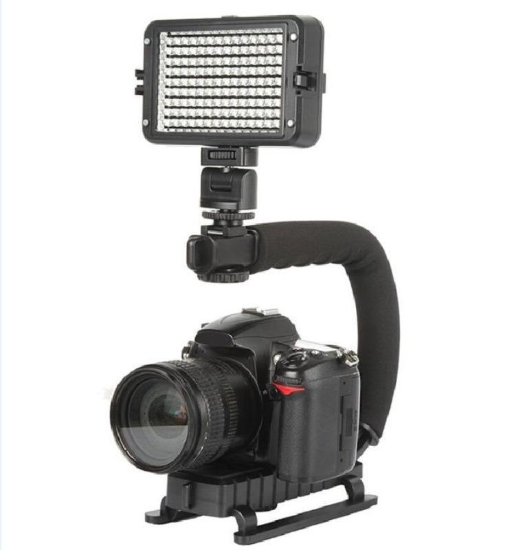 Video Stabilizer Action Dslr Handle Grip Phone Mounts Shape