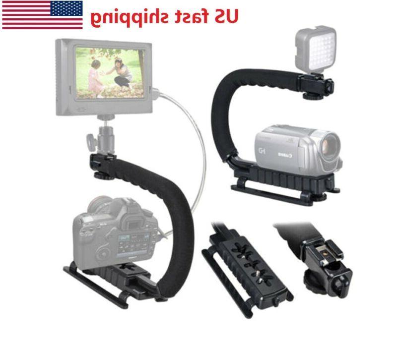 video stabilizer camera action dslr handle grip