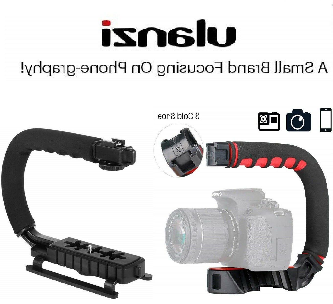 video stabilizer camera dslr handle grip rig