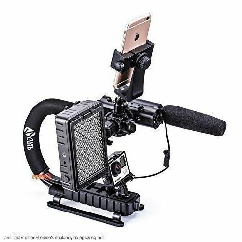 Video Dslr Handle Grip iPhone Camcorder