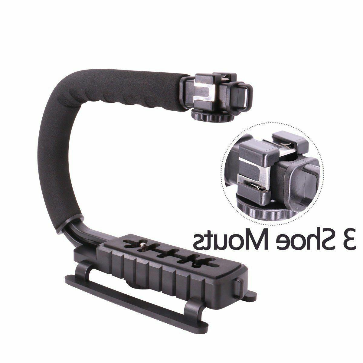 Video Camera Handle Grip iPhone Canon Camcorder