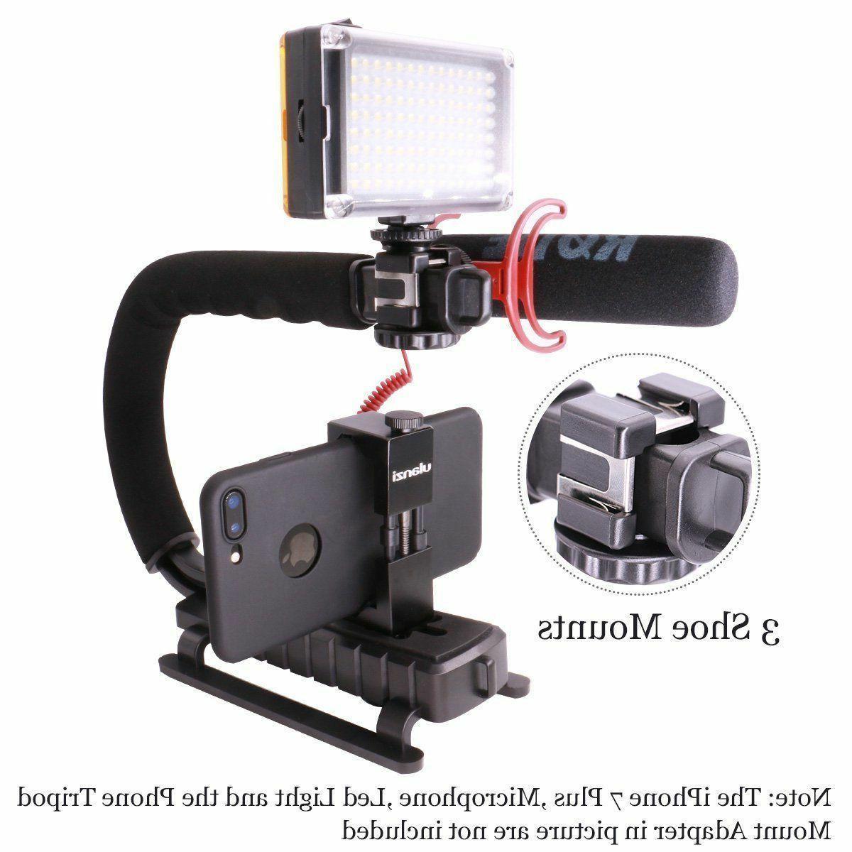 Video Camera Dslr Handle Grip iPhone 7 Plus Camcorder