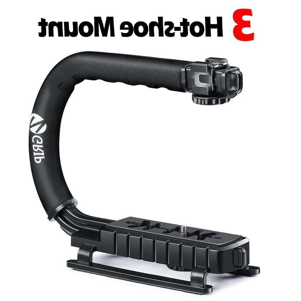 Video Stabilizer Camera Handle Grip Rig Dslr hook Mounts