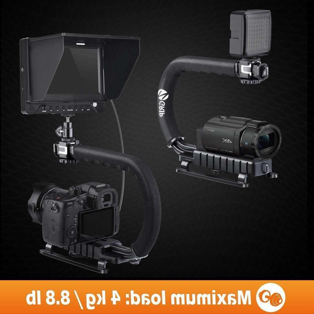 Video Camera hook Triple Mounts
