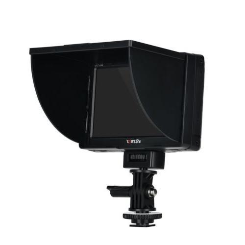 Viltrox Camera TFT LCD Monitor AV +Battery for Nikon DSLR