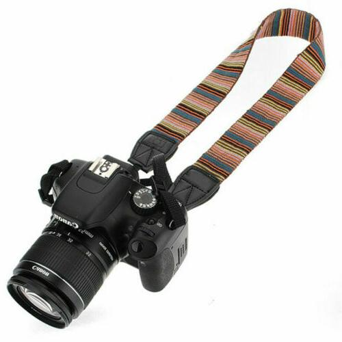 Vintage Camera Sling Belt For DSLR/SLR